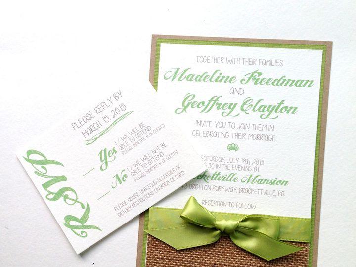Tmx 1425948603443 Img2730 Baltimore wedding invitation