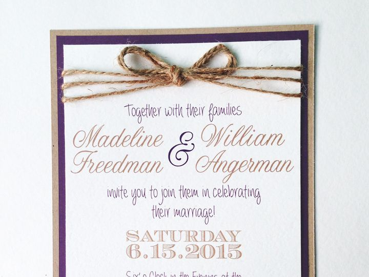 Tmx 1425948733632 Img2717 Baltimore wedding invitation