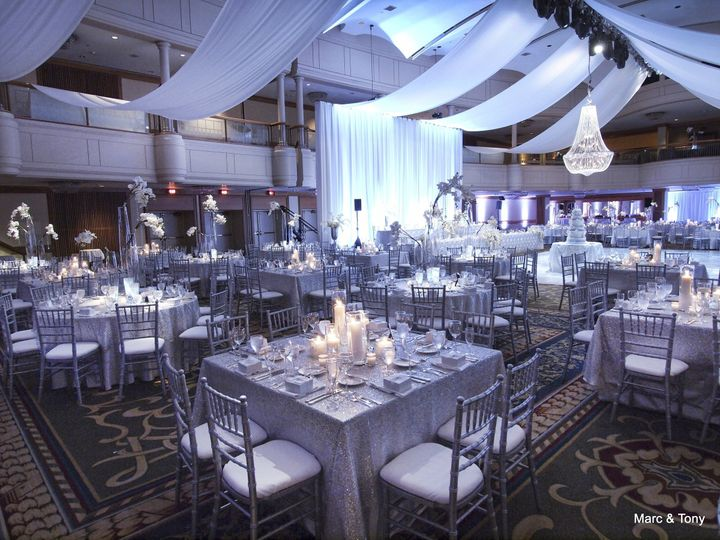 Here are some images from a Wedding we Planned/Coordinated and Decorated. Venue is the Cleveland...