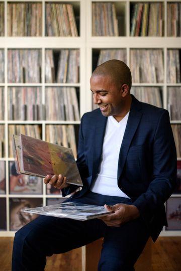 DJ reading