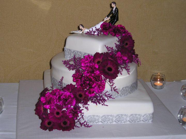 Tmx 1424973010909 Wedding Cake 3 Hudson wedding catering