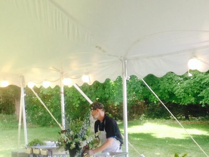 Tmx 1424973084248 Chef In Tent Hudson wedding catering