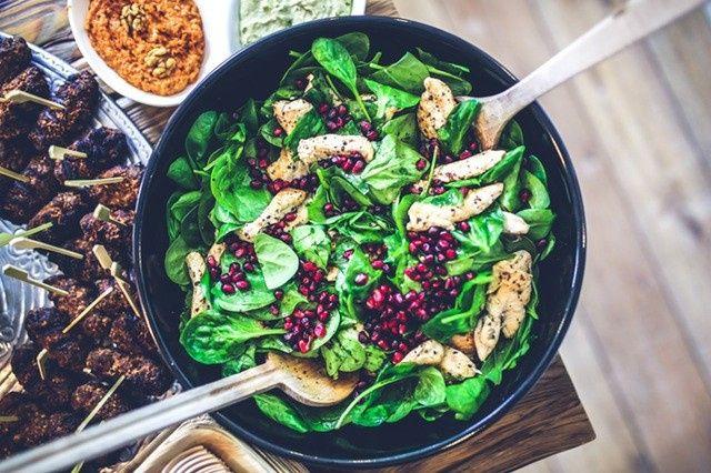 Tmx 1482860631769 Food Salad Healthy Lunch Hudson wedding catering