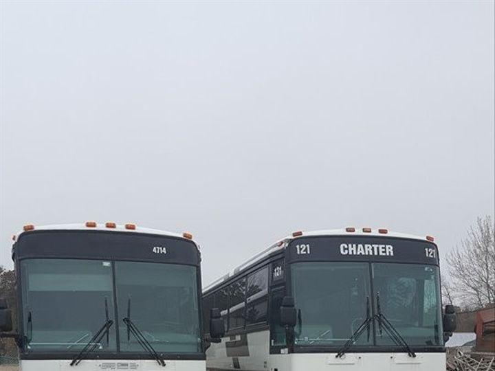 Tmx 1490910241978 55p Shuttle Bus.white Dunellen, NJ wedding transportation