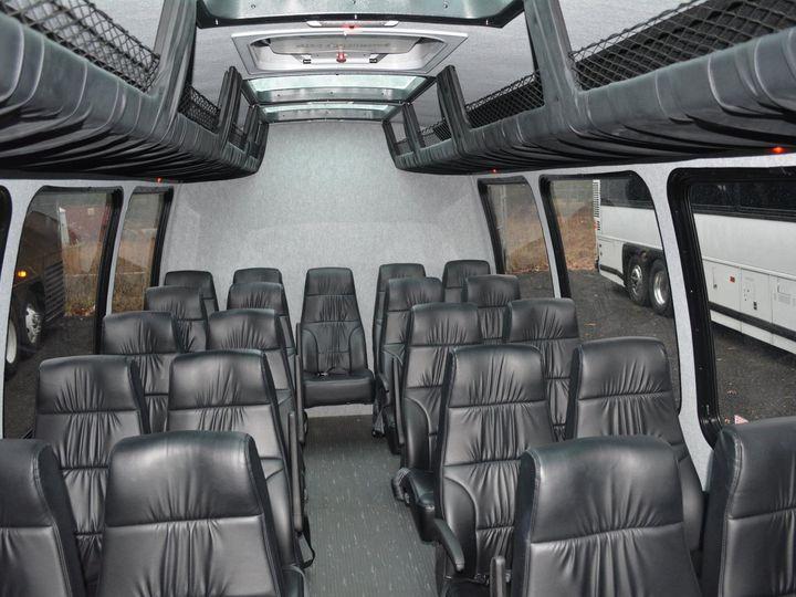 Tmx 1490910295069 24p Shuttle Bus White. Interior Dunellen, NJ wedding transportation