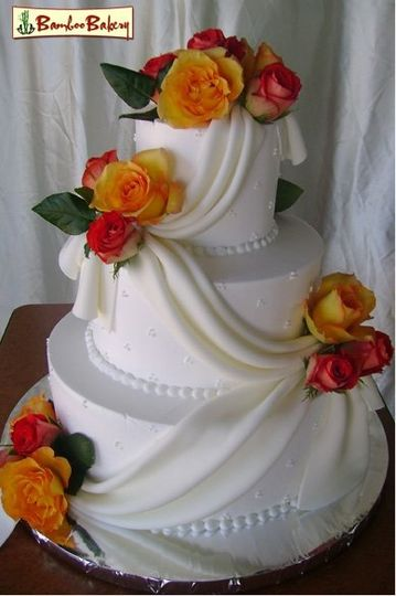 wedding cakes phoenix az bamboo bakery wedding cake az weddingwire 25260