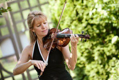 Violinist Christine