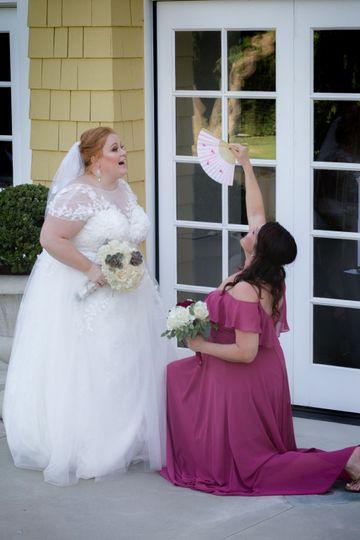 Bridesmaids Lindley-Scott