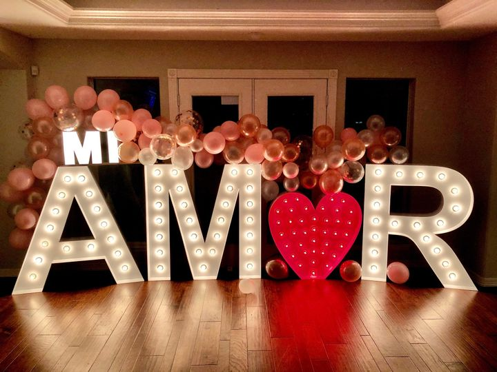 Marquee Letters for any event