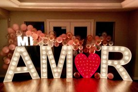 GF Lit Marquee Letters