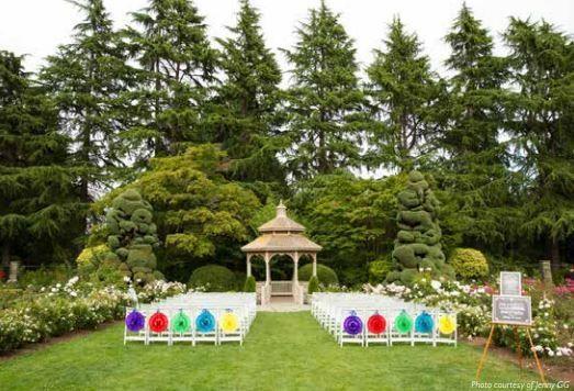 Rose Garden Ceremony