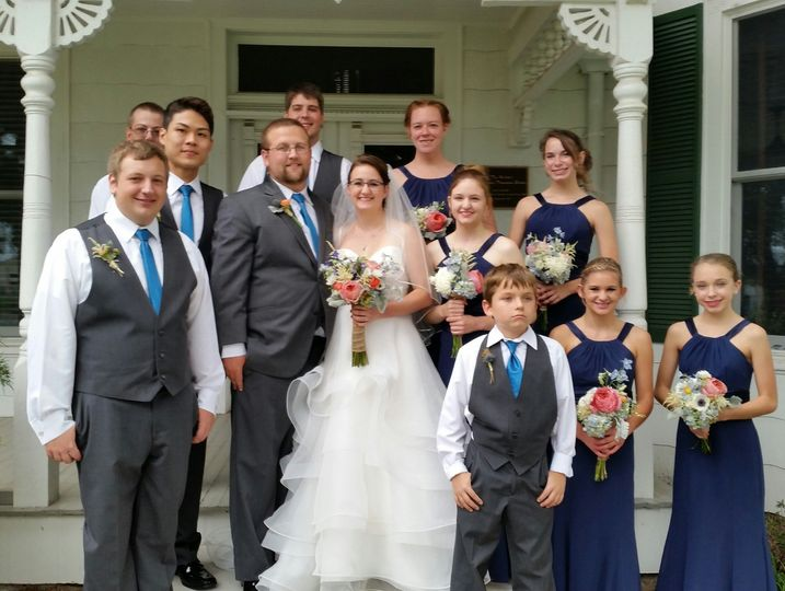 Newlyweds & Bridal Party