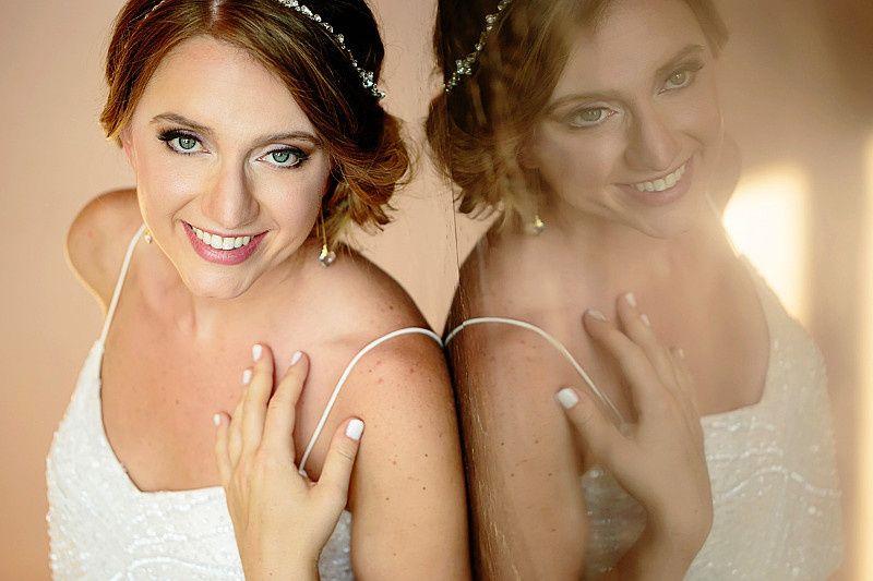Airbrush makeup & chignon
