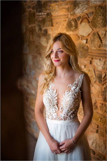 Bridal makeup & hair in Athens
