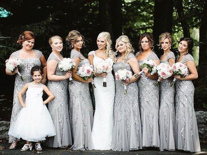 Silver wedding stunner!