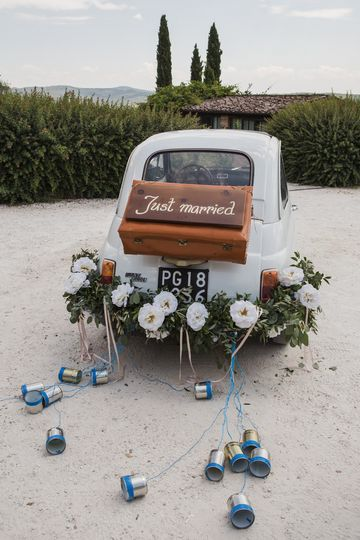 Just Married - Fiat 500