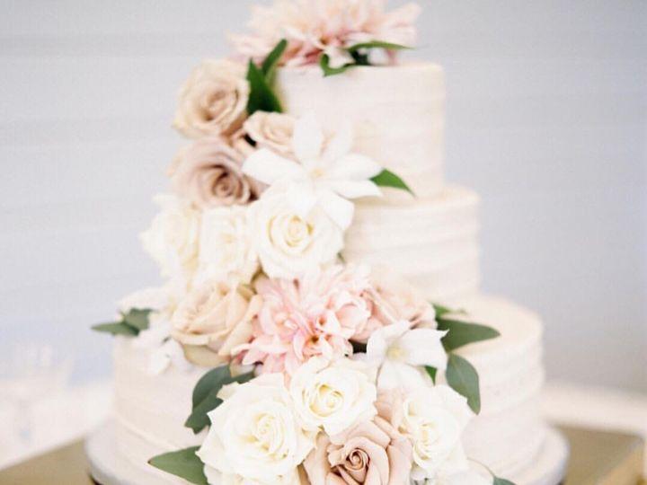 Tmx 1468084122480 Mini Flower Cascade Marietta, GA wedding cake