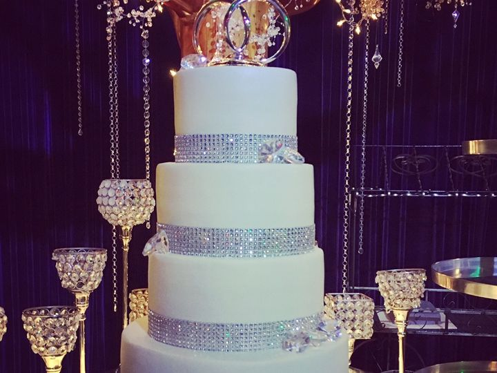 Tmx 1474860706158 Bling Marietta, GA wedding cake