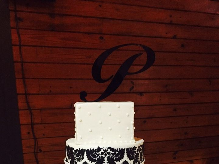 Tmx 1476118348032 Damask And Multishape Marietta, GA wedding cake