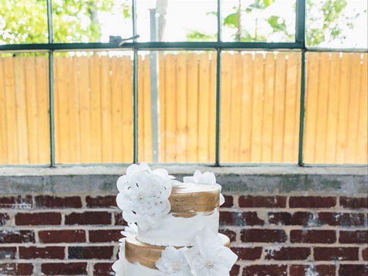 Tmx 1478123019288 Gold And Rice Paper Flowers Marietta, GA wedding cake
