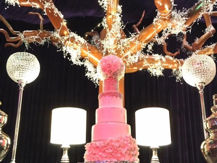 Tmx 1495046997219 5 Tier Flowers Marietta, GA wedding cake