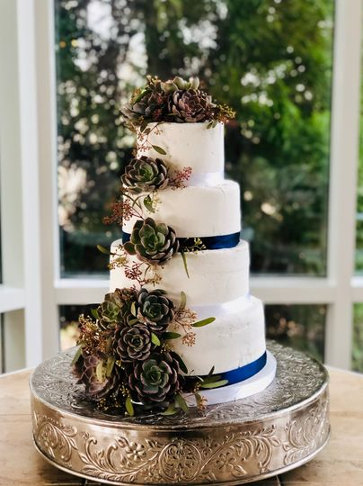 Succulent toppers