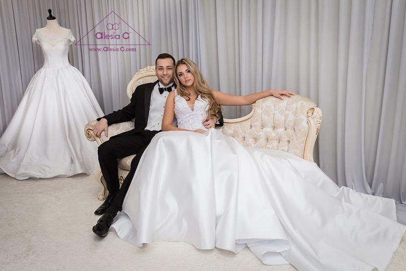 Alesia C Wedding Studio Dress Attire Buffalo Grove Il