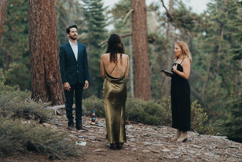 North Lake Tahoe elopement