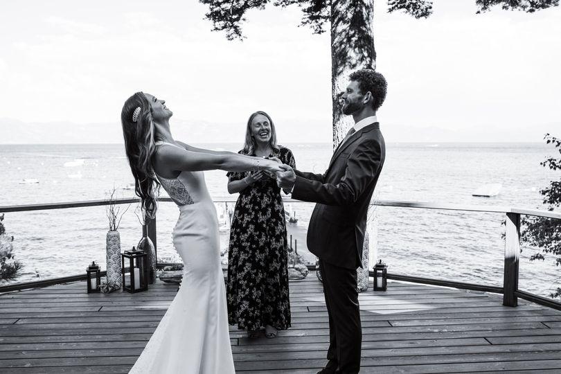 Family Home Lake Tahoe wedding
