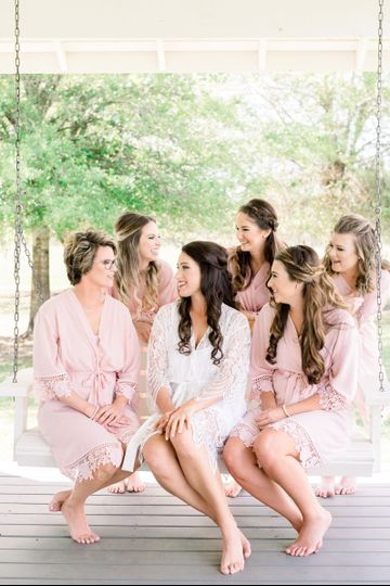 Porch Swing Bridal Party