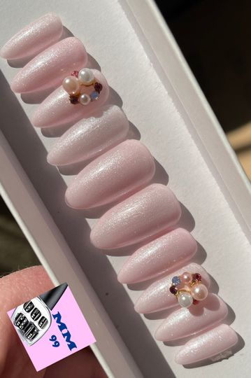 Pearlescent Pinkies