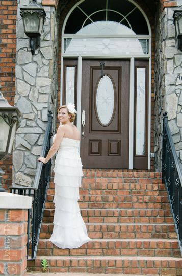 Carolina home wedding