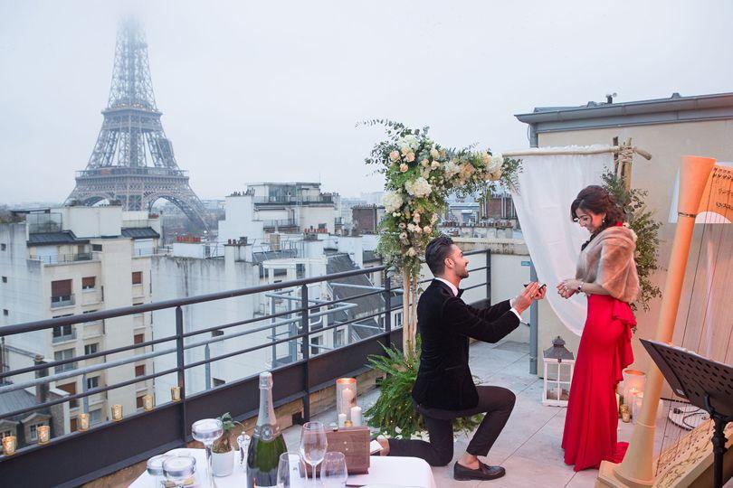 Paris Photographer: the number 1 proposal photographer in Paris. Surprise Paris proposal at the...