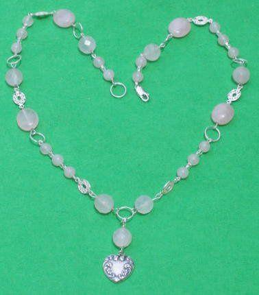 Tmx 1260062689500 ES02463RoseQuartzRingsFiligreeNecklaceHeart Dunedin wedding jewelry