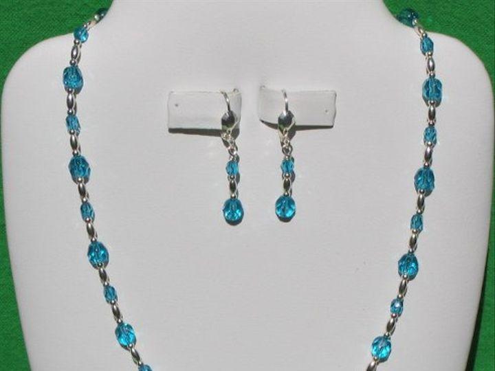 Tmx 1260062795422 ES02455CzechCrownNecklaceSetTurquoise Dunedin wedding jewelry