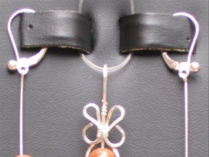Tmx 1260062798156 ES62003CurlyFiligreePendantSetGoldstone Dunedin wedding jewelry