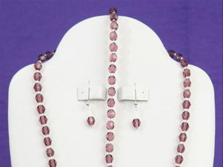 Tmx 1265821415235 BR24008CZBridalSwirlsNecklaceSetCzechFirePolished Dunedin wedding jewelry