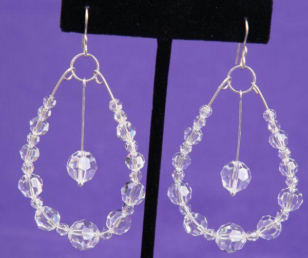 Tmx 1265821513048 BR24023CSwarovskiCrystalClearOvalEarringsStyleII Dunedin wedding jewelry