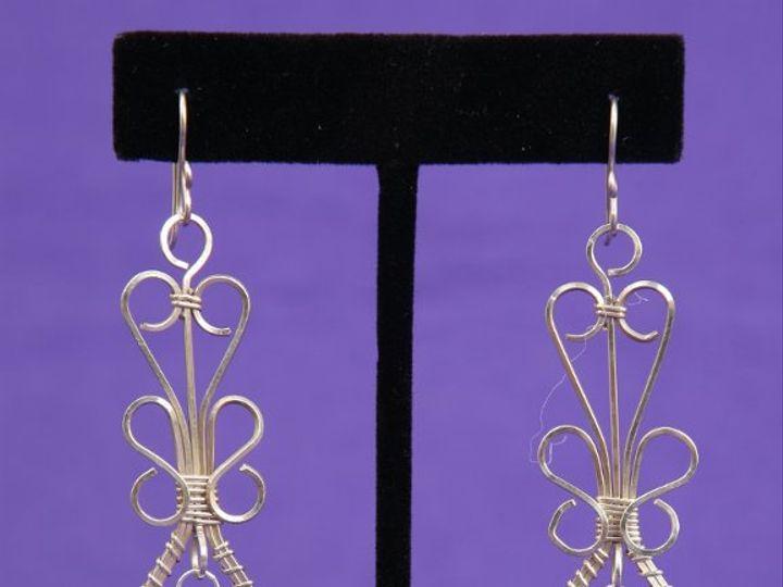 Tmx 1265821516235 BR24025ABBridalTeardropSSEarringSwarovskiCrystalPearAB Dunedin wedding jewelry