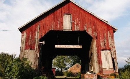 Old Corn Crib exterior