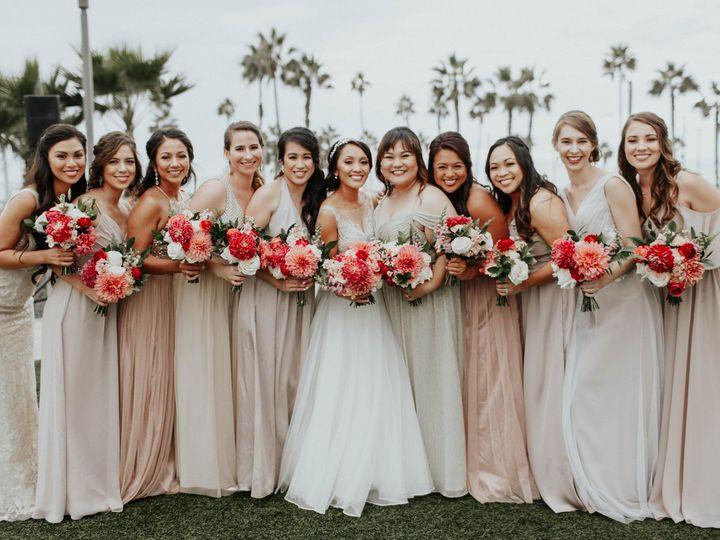Tmx Living Coral Bridesmaids Bouquets Sibyl Sophia Des Moines Iowa 51 960401 1557876897 Des Moines, IA wedding florist