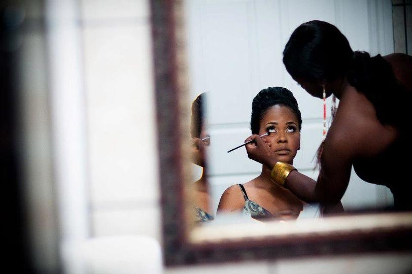 Makeup prep