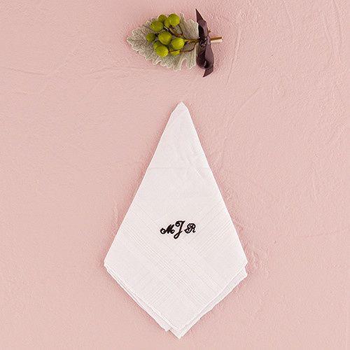 Tmx 1418575834897 8142gentlemans Plain Handkerchief72ac16e5e818ade69 Boston wedding favor
