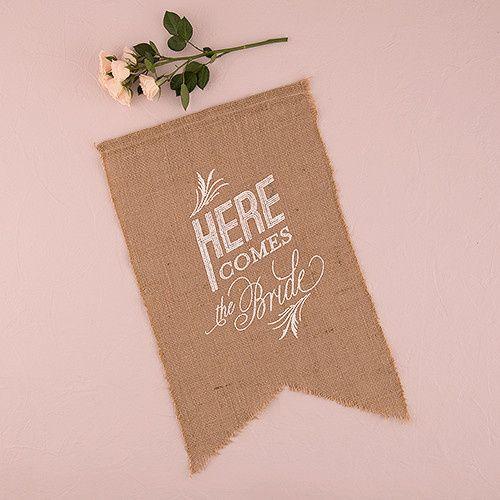 Tmx 1419809884210 9718natural Burlap Ceremony Sign White Print Here  Boston wedding favor