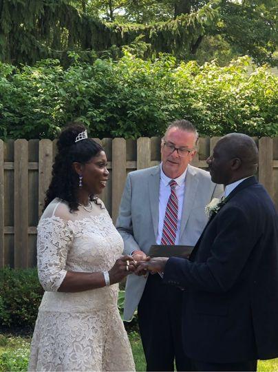 Micro-Wedding in Backyard