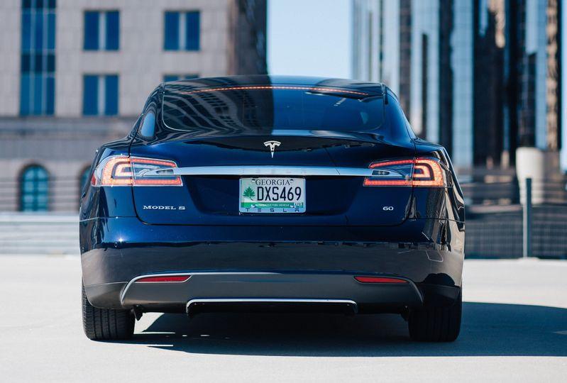 Rear view - alternative fuel