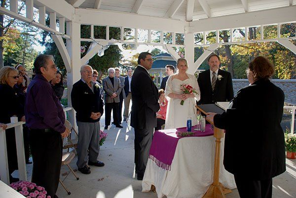 Rev. Misty Urban welcomes friends and family at Molly and Norbert's wedding ceremony. Their marriage...