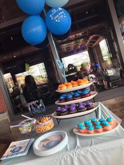 Great option for cupcake bar