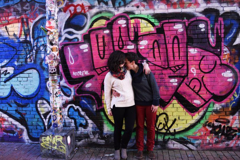 Graffiti Alley Engagement