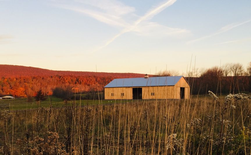 New Leaf Farm's renovated barn